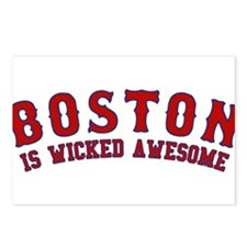boston is wicked awesome Postcards (Package of 8)