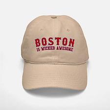 boston is wicked awesome Baseball Baseball Cap