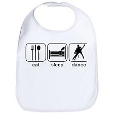 Eat Sleep Dance 2 Bib