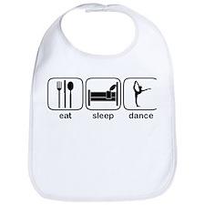 Eat Sleep Dance 3 Bib
