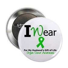 """Gift of Life (Husband) 2.25"""" Button"""