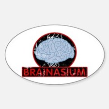 brainasium Oval Decal