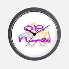 Cute Nicu nurses Wall Clock