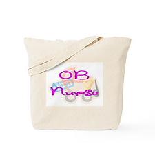 Unique Ob nurse Tote Bag