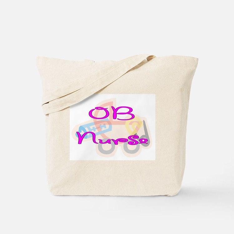 Cute Ob nurse Tote Bag