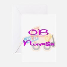 Cute Obstetrics Greeting Cards (Pk of 20)