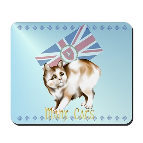 Manx Cats Mousepad