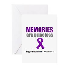 Alzheimer Priceless Greeting Cards (Pk of 10)