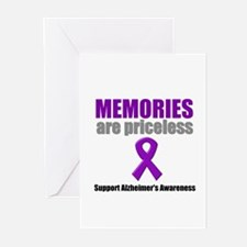 Alzheimer Priceless Greeting Cards (Pk of 10)