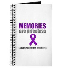 Alzheimer Priceless Journal