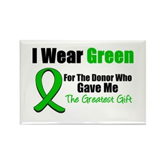 Greatest Gift Organ Donor Rectangle Magnet