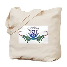 Daniela's Celtic Dragons Name Tote Bag