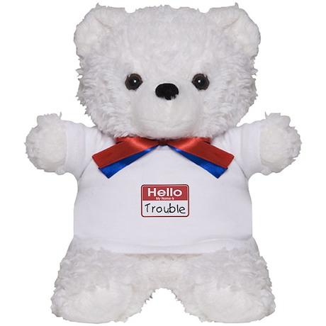 Hello Trouble Teddy Bear
