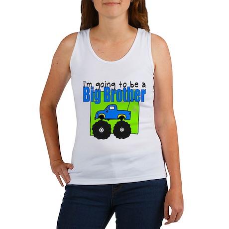 Monster Truck Big Brother Women's Tank Top