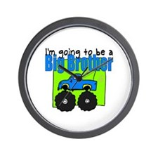 Monster Truck Big Brother Wall Clock