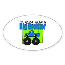 Monster Truck Big Brother Oval Decal