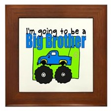 Monster Truck Big Brother Framed Tile