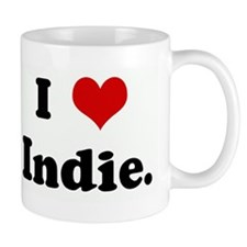 I Love Indie. Mug