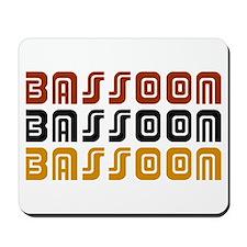 Tribal Bassoon Mousepad