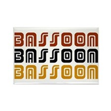 Tribal Bassoon Rectangle Magnet