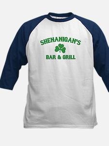 shenanigan's bar & grill Kids Baseball Jersey