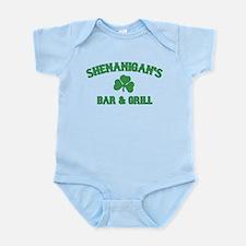 shenanigan's bar & grill Infant Bodysuit