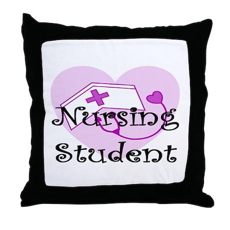 More Student Nurse Throw Pillow