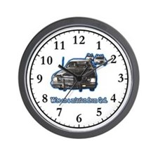 We're on a mission Wall Clock