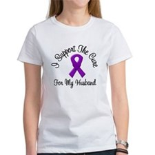Purple Ribbon (Husband) Tee