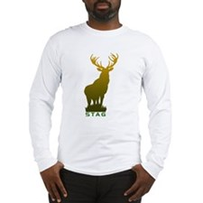DEER STAG GRAPHIC LONG SLEEVE T SHIRT