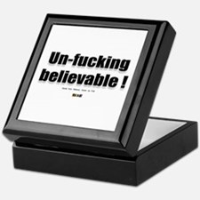 Un-fucking Believable Keepsake Box