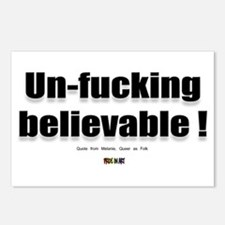 Un-fucking Believable Postcards (Package of 8)