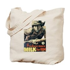 Produce More Milk Tote Bag