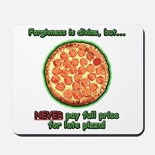 Wise Pizza Mousepad