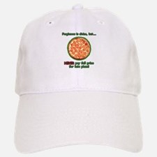 Wise Pizza Baseball Baseball Cap