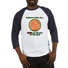 Wise Pizza Baseball Jersey