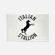 italian stallion Rectangle Magnet