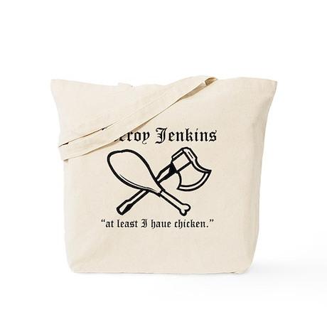 leeroy jenkins Tote Bag