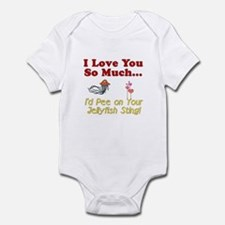 Pee on Your Jellyfish Sting Infant Bodysuit