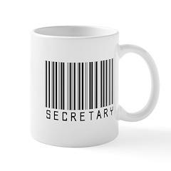 Secretary Barcode Mug