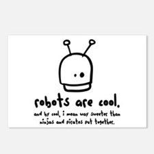robots are cool Postcards (Package of 8)