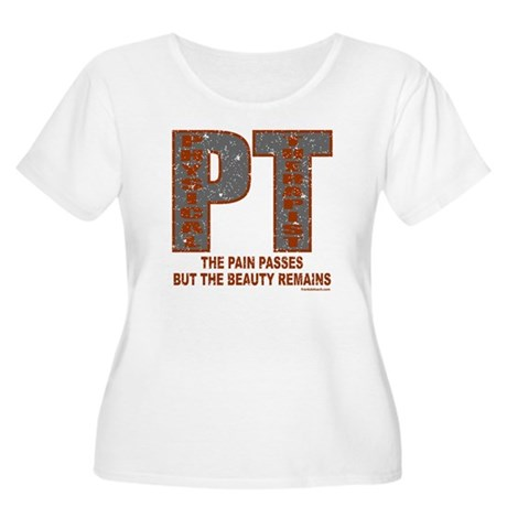 PHYSICAL THERAPIST Women's Plus Size Scoop Neck T-