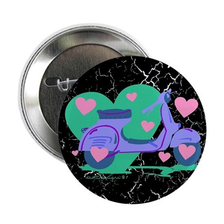 """Scooter Hearts 2.25"""" Button (100 pack)"""