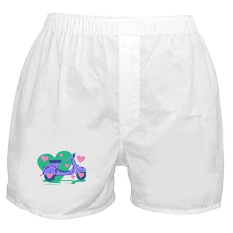 Scooter Hearts Boxer Shorts