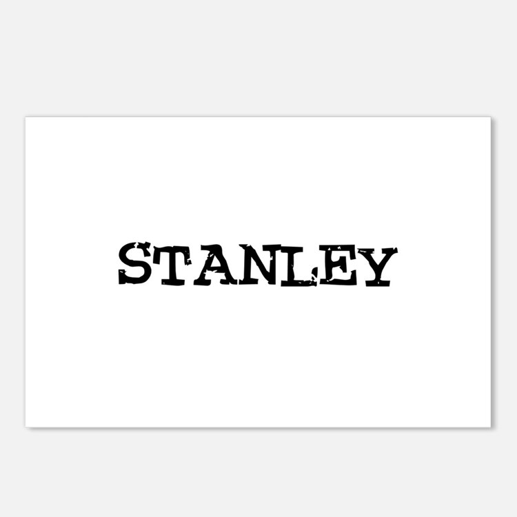Stanley Postcards (Package of 8)