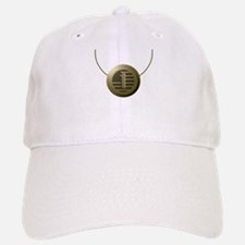 Gold Number 1 Baseball Baseball Cap