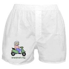 Grandma's Toy Boxer Shorts