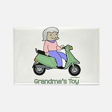 Grandma's Toy Rectangle Magnet