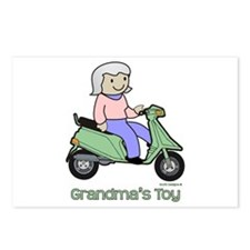 Grandma's Toy Postcards (Package of 8)