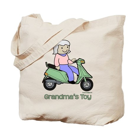Grandma's Toy Tote Bag